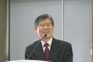 숭목회 신임 대표회장으로 선출된 임승안 나사렛대 총장.