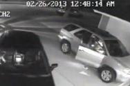 자동차 절도 CCTV