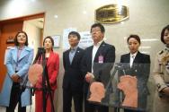 북한자유인권 탈북민 기자회견