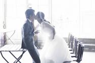 배우 박솔미와 한재석의 웨딩사진