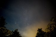 영월 밤 하늘의 별