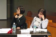 """12일 저녁, 경동교회 여해문화공간에서는 크리스챤아카데미와 서울YWCA 주최로 """"교회언니들의 페미토크 - 교회와 페미니즘 공존 가능한가""""란 제목의 토론회가 열렸다."""