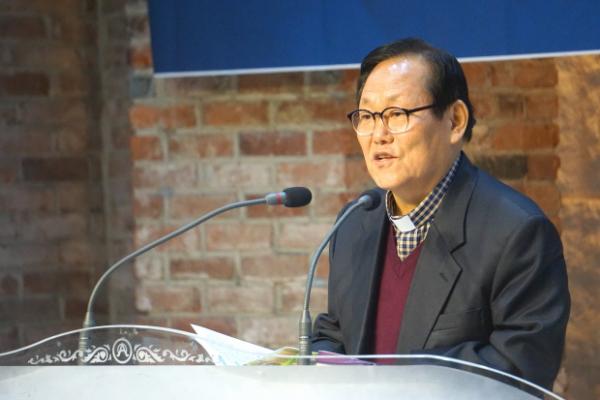 한장총 대표회장 김수읍 목사