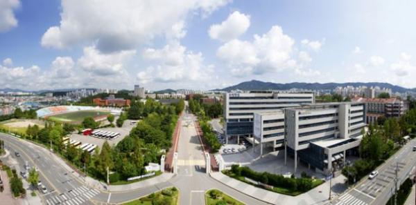 한남대학교 정경사진