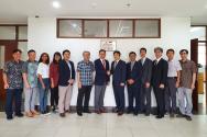 인도네시아 창업혁신센터 현판식