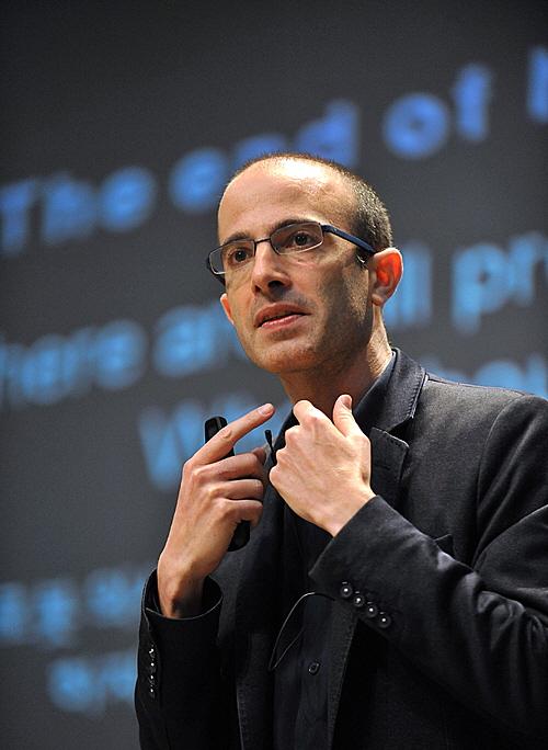 '사이엔스'의 저자인 역사학자 유발하라리 교수(예루살렘히브리대학교 교수)