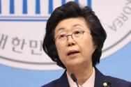 이은재 의원은 23일 국회에서 자유한국당에서 탈당하고 기독자유통일당에 입당한다고 밝혔다.