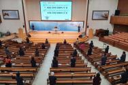 경북도 내 주일예배를 드린 교회 모습.