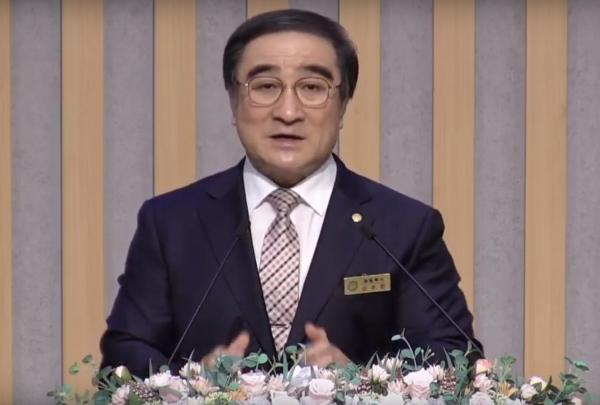 신수인 목사(예장고신 총회장)