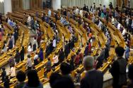 여의도순복음교회 3일 거리두기 예배 모습