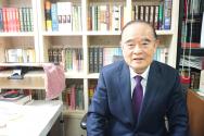 은평구 중심교회 원로목사 서문강 목사. 그는 2005년도에 29년 간 마틴로이드존스 목사 로마서 강해 전 14권을 번역해 한국에 소개했다.