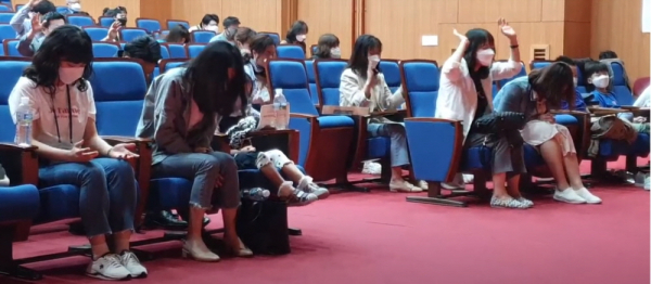 레인보우리턴즈 이상원 교수 규탄 집회