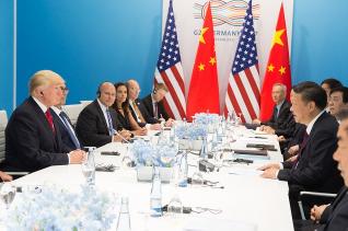 트럼프 대통령 중국