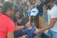 조지 플로이드 시위 침례