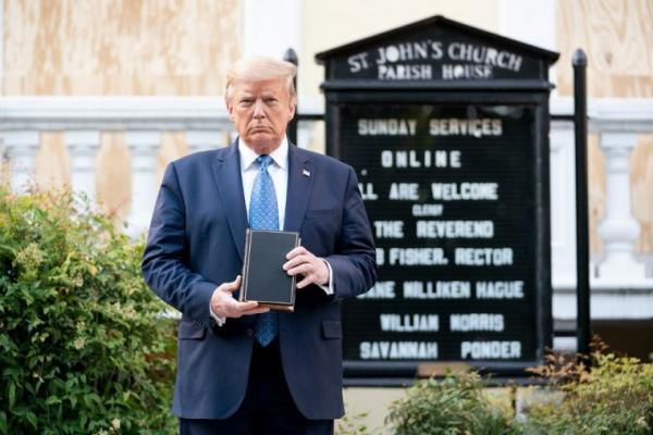 트럼프 성요한 교회
