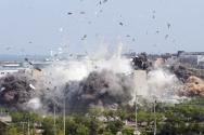 북한이 남북공동연락사무소를 폭파시킨 사진과 영상을 공개했다. - 썸네일 용