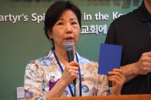 한국순교자의 소리 경기도 대북전단 살포 고발 해명 기자회견