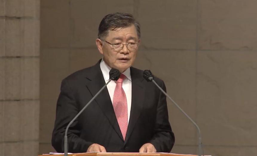 한국교회구국기도대성회 임현수 목사(캐나다 큰빛교회)