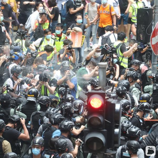 홍콩 국가보안법 시위