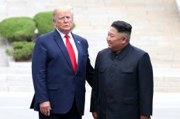 트럼프 대통령 김정은 위원장