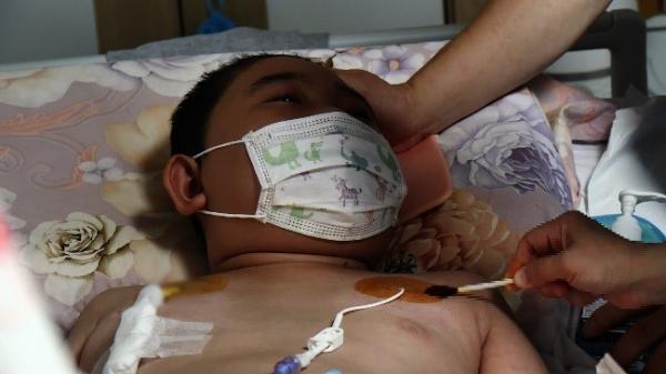 밀알복지재단, 3년 전 발병한 뇌종양으로 투병중인 열다섯 살 최기극 군
