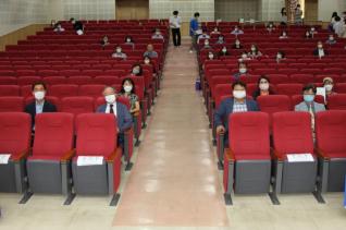 오산역사 평생교육 프로그램 개강식 참석자