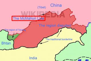 인도 중국 맥마흔 라인