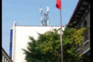 비터윈터 국기 게양