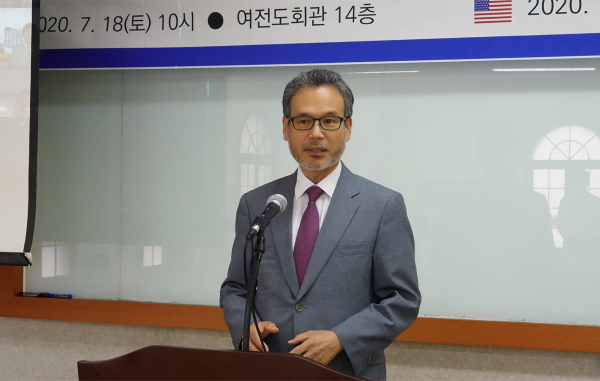한국직선대와 미주장신대의 선교학 석사 과정을 위한 사역협약식