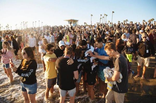 캘리포니아 해변 부흥 집회