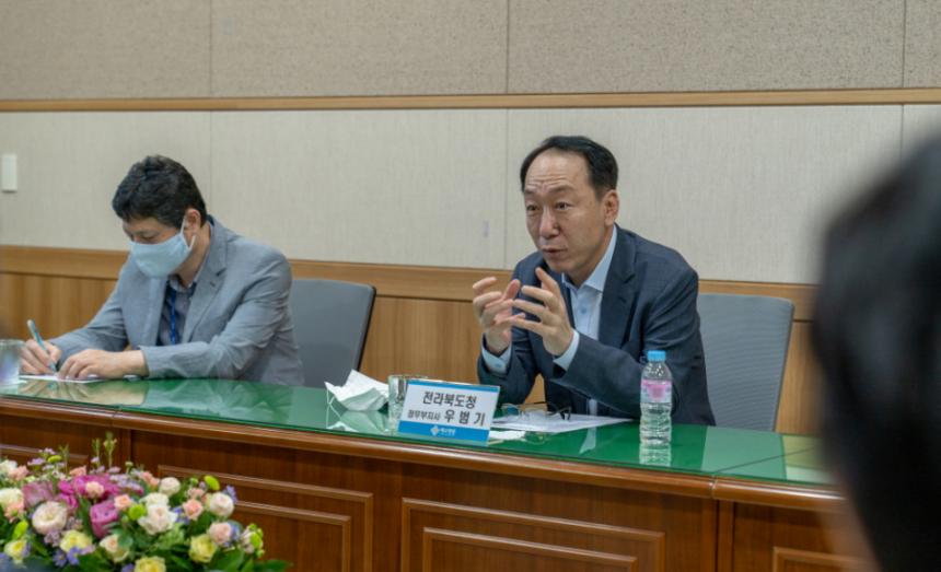 전라북도 우범기 정무부지사 예수병원 방문