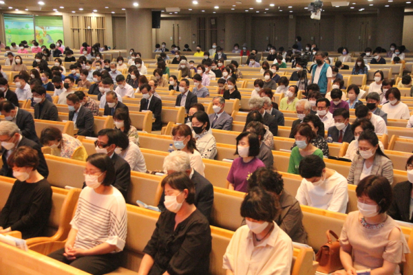 6.25 전쟁 70주년 복음통일기도성회 기도 사진