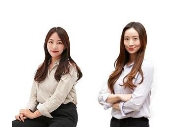 왼쪽부터 김명주 책임 디자이너과 변지윤 수석 개발자