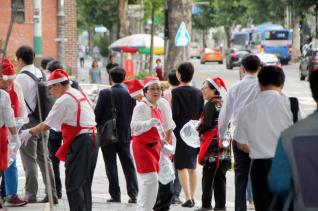(사)한국기독교원로목회자재단 마스크 나눠주기 행사