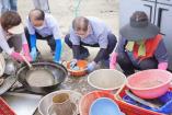 새에덴교회 전북 남원 수해 지역 봉사