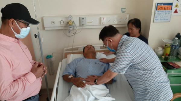코로나19 해외방역지원운동 김인효 선교사 (필리핀 민도르)