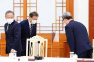 문재인 대통령 김태영 목사