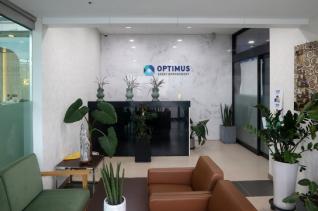 옵티머스자산운용(옵티머스) 펀드 환매 중단 사태가 국회 국정감사 여야의 주요 공방으로 떠오른 12일 오후 서울 강남구 옵티머스 사무실이 텅 비어 있다.