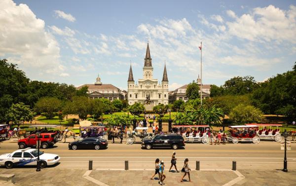 뉴올리언스 잭슨 광장