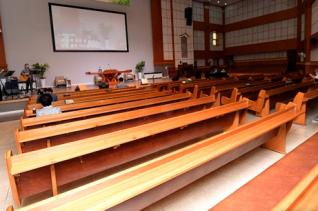 온라인 예배를 드리고 교회