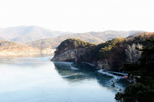 상주 경천대와 낙동강