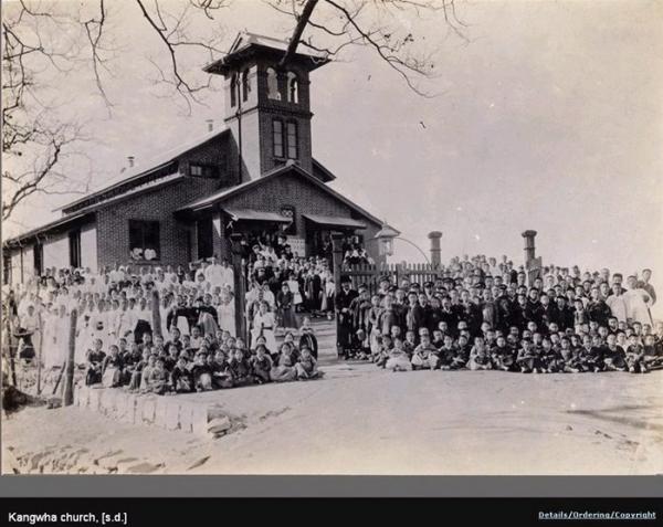 존스 선교사와 강화교회 성도들