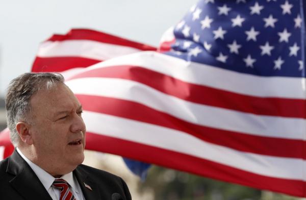 2일(현지시간) 마이크 폼페이오 미국 국무장관.