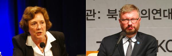 수잔 숄티 대표 그렉 스칼라튜 사무총장