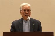 제2회 국회 가정보호 컨퍼런스 개회사를 전하는 공동대책위원장 이종락 목사(주사랑공동체)