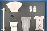PHA를 이용해 만든 친환경 플라스틱 제품들