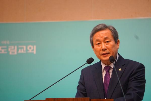 예장통합 총회장 신정호 목사