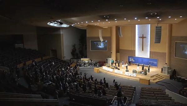'워쉽 위드 지저스'(Worship with Jesus) 집회