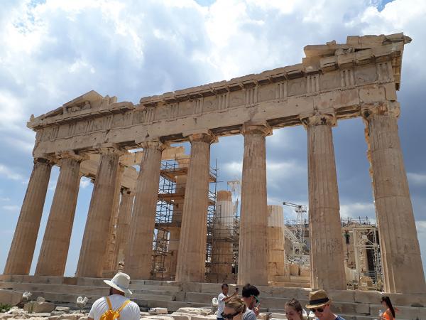 아크로폴리스의 파르테논