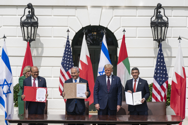 아브라함 평화협정 미국 이스라엘